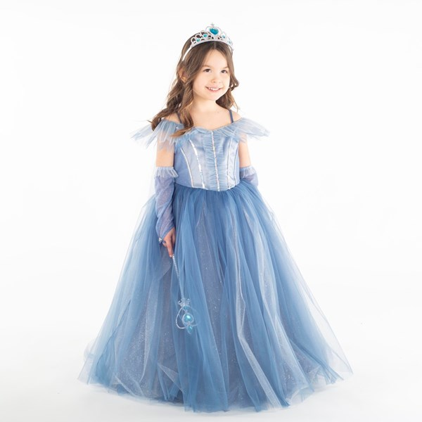 9352 Mavi Kostüm 5