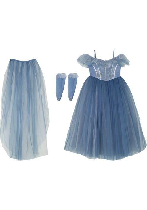 9352 Mavi Kostüm 3