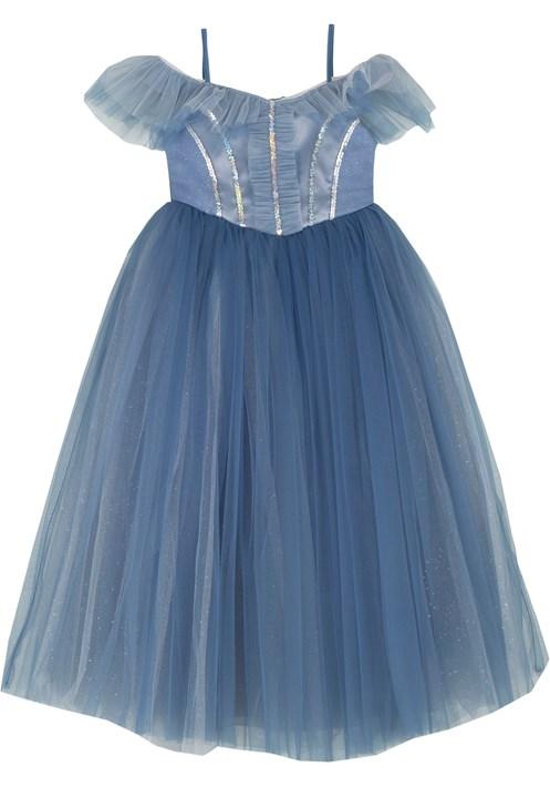 9352 Mavi Kostüm 2