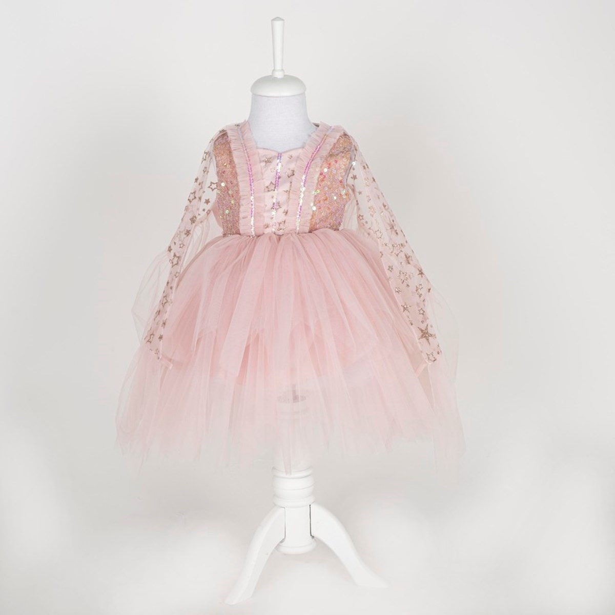 9360 Pelerinli Elbise 1